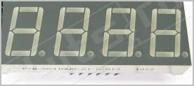 Четырехразрядный семисегментный индикатор