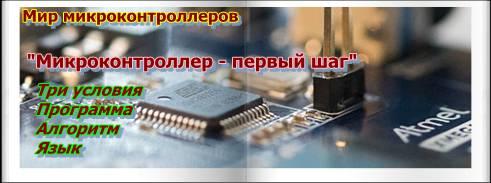 Устройство и программирование микроконтроллеров для начинающих