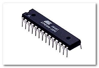 Микроконтроллер ATmega8