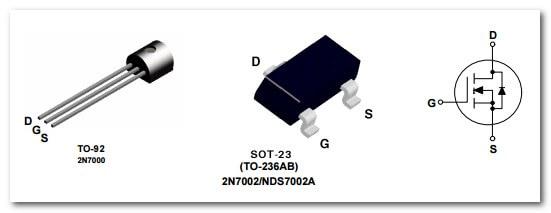 Полевой транзистор 2N7000