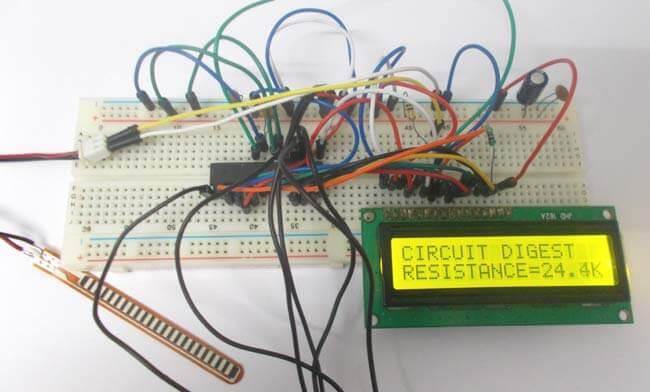 Подключение гибкого датчика к микроконтроллеру AVR: внешний вид