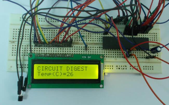 Измерение температуры с помощью микроконтроллера AVR и сенсора LM35: внешний вид