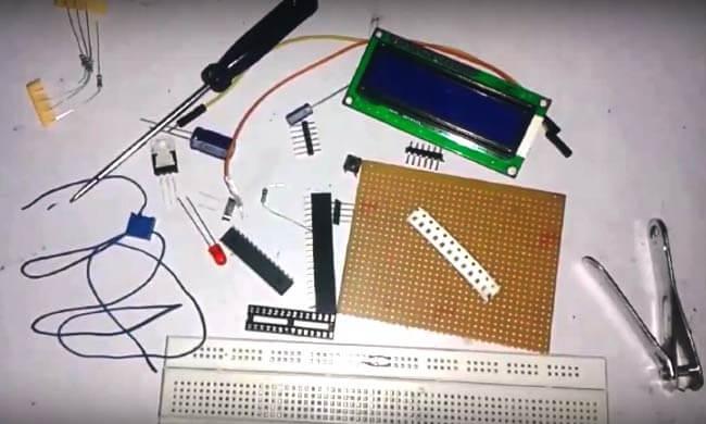 Компоненты для сборки собственной платы Arduino