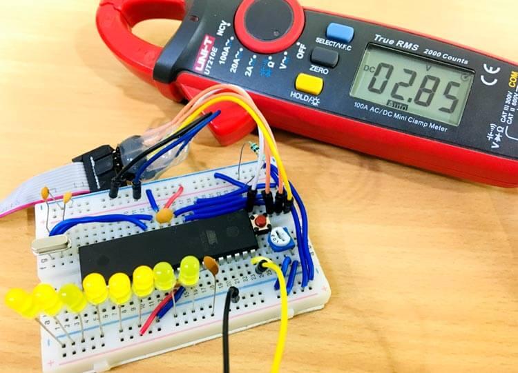 Как использовать АЦП в микроконтроллере AVR ATmega16: внешний вид конструкции