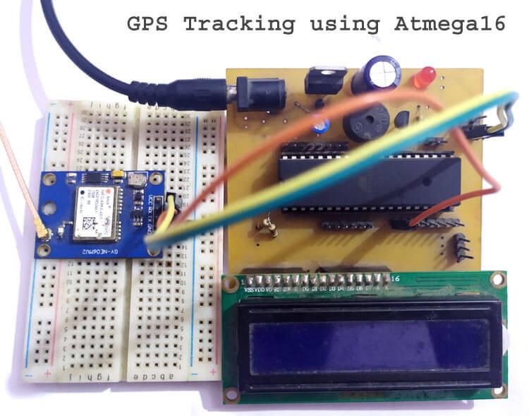 Подключение GPS модуля к микроконтроллеру AVR ATmega16/32: внешний вид конструкции