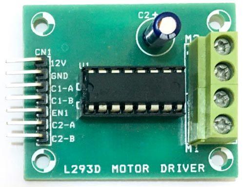 Драйвер мотора L293D