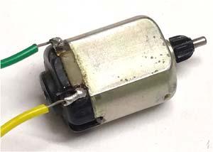 Внешний вид двигателя постоянного тока