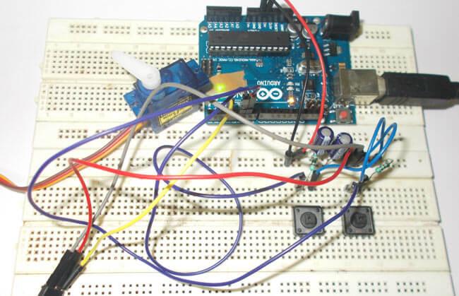 Подключение серводвигателя (сервомотора) к Arduino Uno: внешний вид