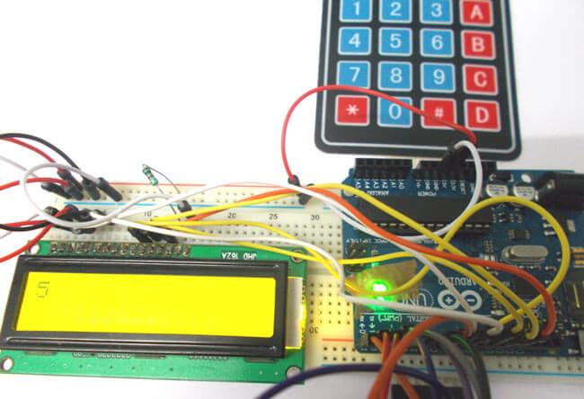 Подключение клавишной панели к Arduino Uno: внешний вид конструкции