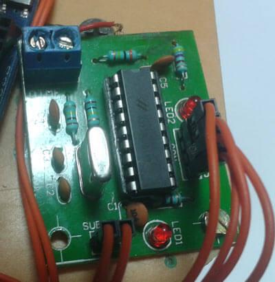 Внешний вид декодера DTMF сигналов
