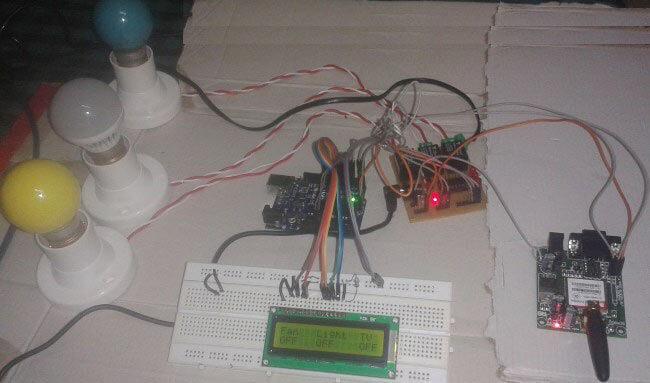 Автоматизация дома с использованием GSM и Arduino: внешний вид конструкции