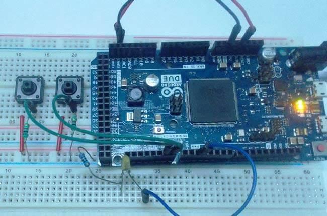 Использование ШИМ в Arduino Due: внешний вид конструкции