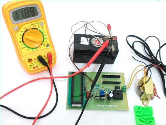 Тестирование нашего зарядного устройства