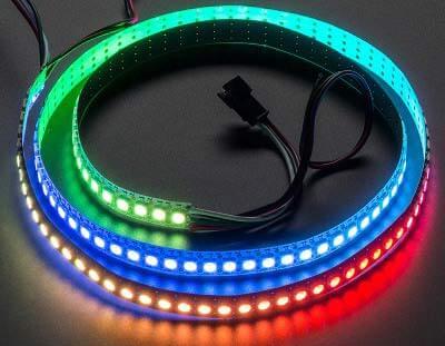 Внешний вид светодиодной ленты от Adafruit