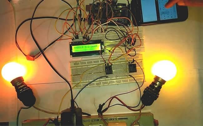 Автоматизация дома на Arduino под управлением смартфона: внешний вид конструкции