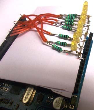 Подключение светодиодов к плате Arduino