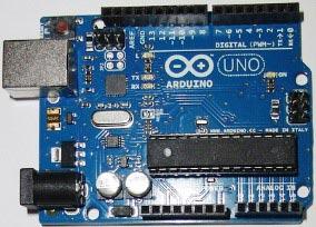 Внешний вид платы Arduino Uno