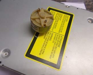 Установка электродвигателя на DVD-привод