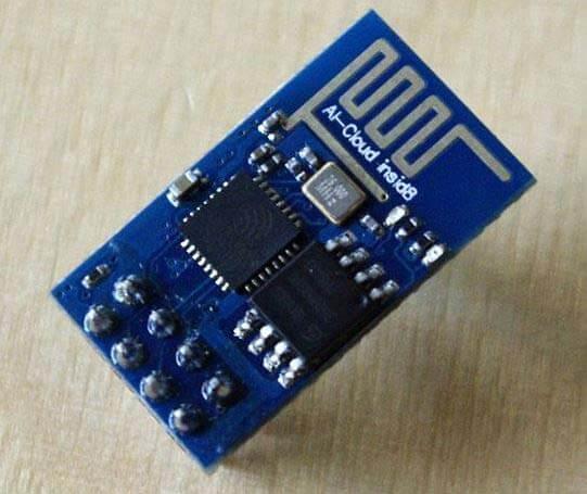 Внешний вид Wi-Fi модуля ESP8266