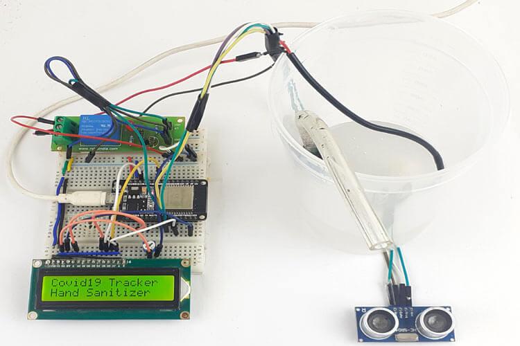 Внешний вид собранного автоматического дозатора