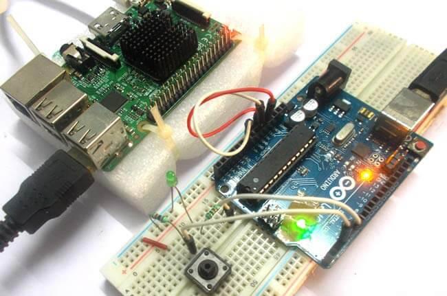 Подключение Arduino к Raspberry Pi: внешний вид конструкции