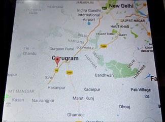 Отображение местоположения автомобиля на гугл картах