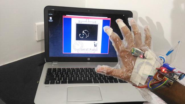 Проект виртуальной реальности на Arduino Nano и Processing: внешний вид