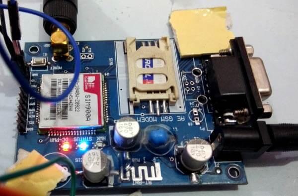 Внешний вид GSM модуля