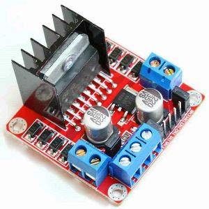 Внешний вид контроллера двигателя L298N