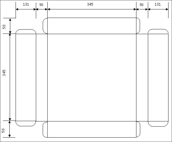 Размеры основания для нашего плоттера