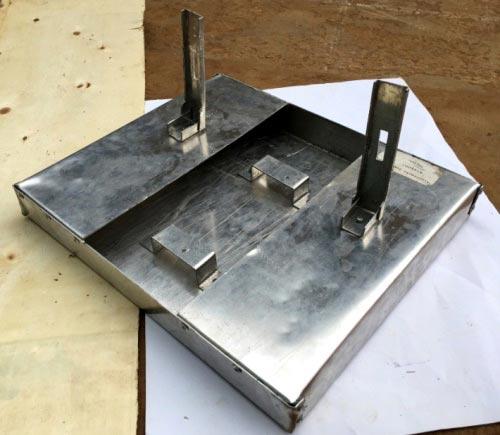Внешний вид собранного основания для плоттера