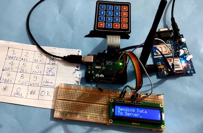 Передача данных на веб-сервер с использованием Arduino: внешний вид конструкции