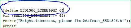 Изменение кода примера