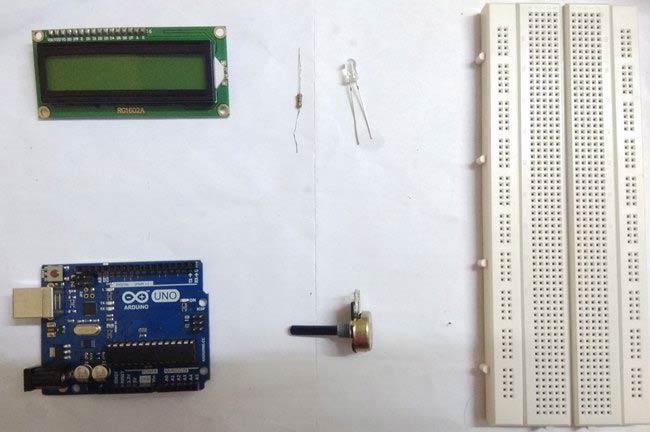Внешний вид необходимых компонентов для сборки нашего амперметра