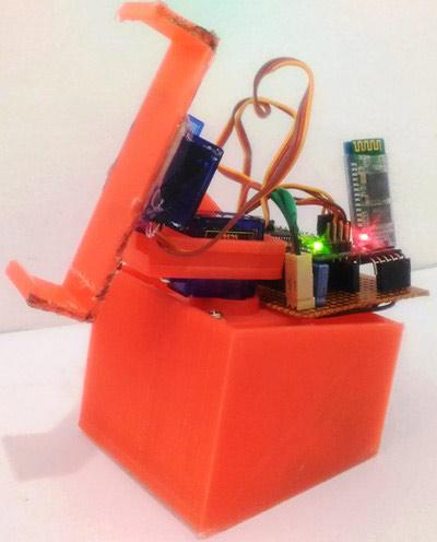 Внешний вид нашего робота крупным планом