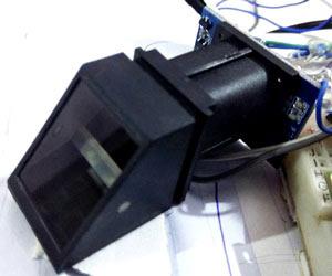 Внешний вид модуля отпечатков пальцев
