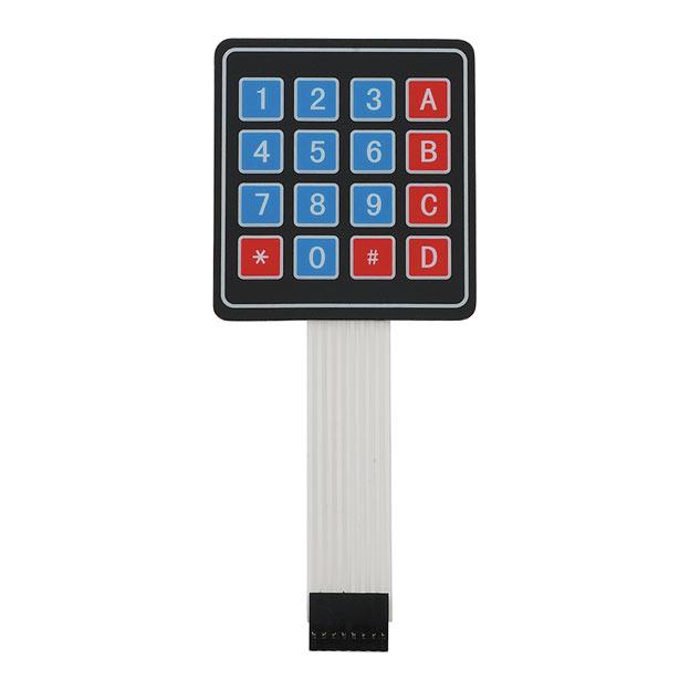 Внешний вид алфавитно-цифровой клавишной панели