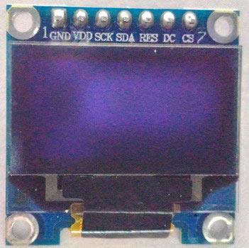 Внешний вид OLED дисплея SSD1306