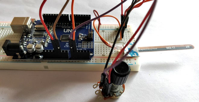 Внешний вид собранного контроллера
