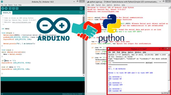 Объединение возможностей Python и Arduino сулит много возможностей