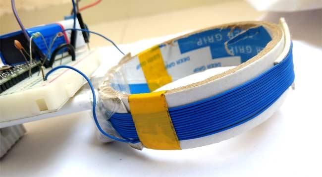 Самодельная катушка индуктивности для нашего металлоискателя на Arduino