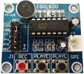 Внешний вид голосового модуля ISD 1820