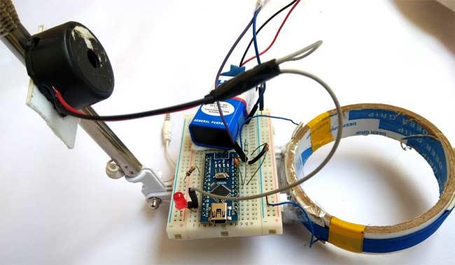Внешний вид металлоискателя на Arduino