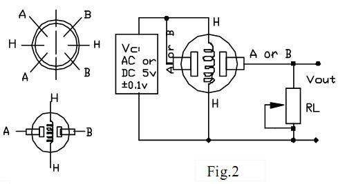 Схема подключения и распиновка датчика газа