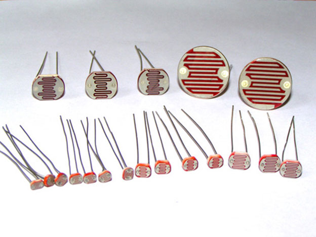 Внешний вид фоторезисторов