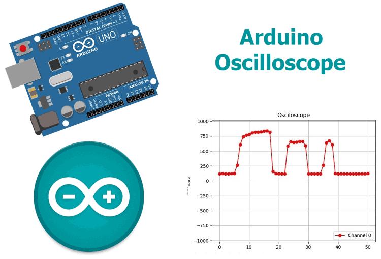 Проект осциллографа реального времени на Arduino