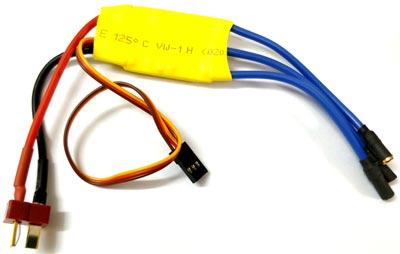 Типовые провода для подключения контроллера ESC