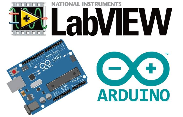 Подключение среды визуального моделирования LabVIEW к Arduino Uno