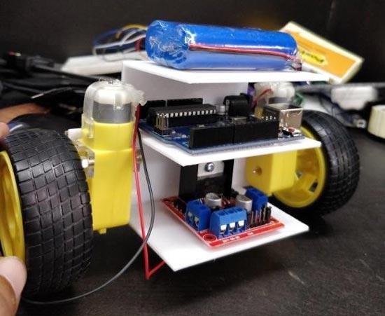Конструкция робота после сборки