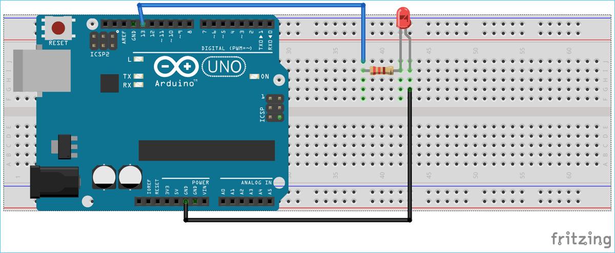 Схема проекта для последовательной связи между MATLAB и Arduino